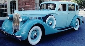 Restored 1935 Packard Super 8
